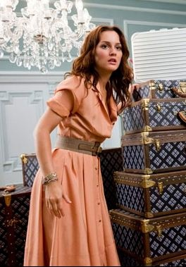 pretty peach dress from Monte Carlo movie