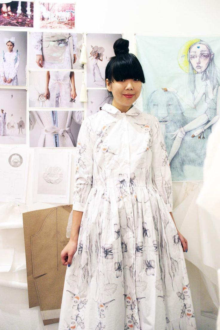 Susie Bubble wearing LES' dress #susielau #stylebubble