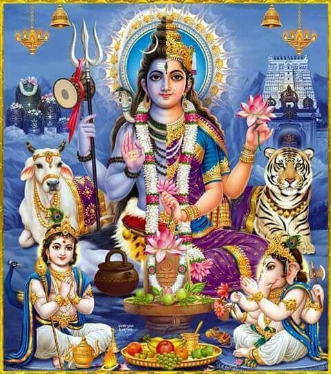 Shiva Shakti Ganesh Muruga., The Family of perfection