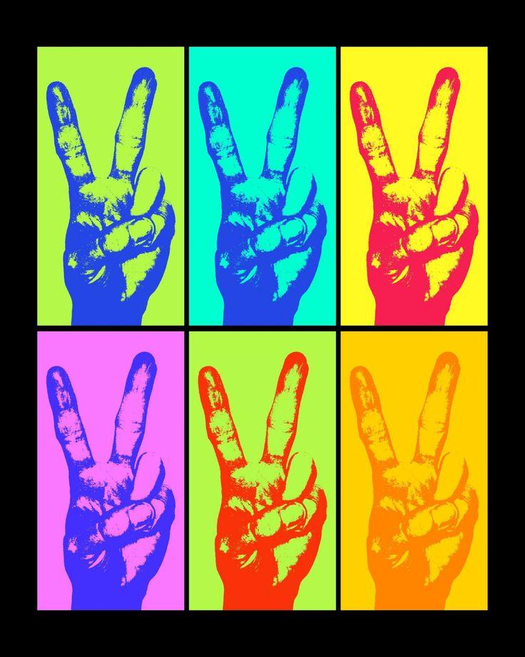 peace andy warhol