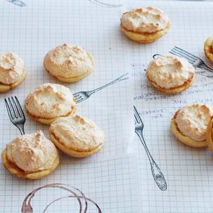 Hertzog cookies a favourite for afternoon tea, coconut, apricot jam and pastry.