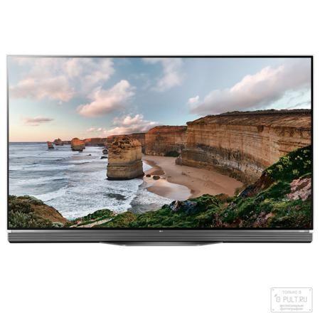 LG OLED65E6V  — 349990 руб. —   Встречайте телевизор будущего, ставший реальностью благодаря технологии OLED.            Стеклянная панель   Встречайте первый в истории OLED-экран, интегрированный в стекло толщиной всего 2,57 мм. Такого тонкого и элегантного телевизора с высочайшим качеством изображения вы ещё не видели!            Подставка со встроенным саунд-баром   Основанием для телевизора LG OLED TV служит элегантная подставка со встроенным саунд-баром. Для того, чтобы звук…