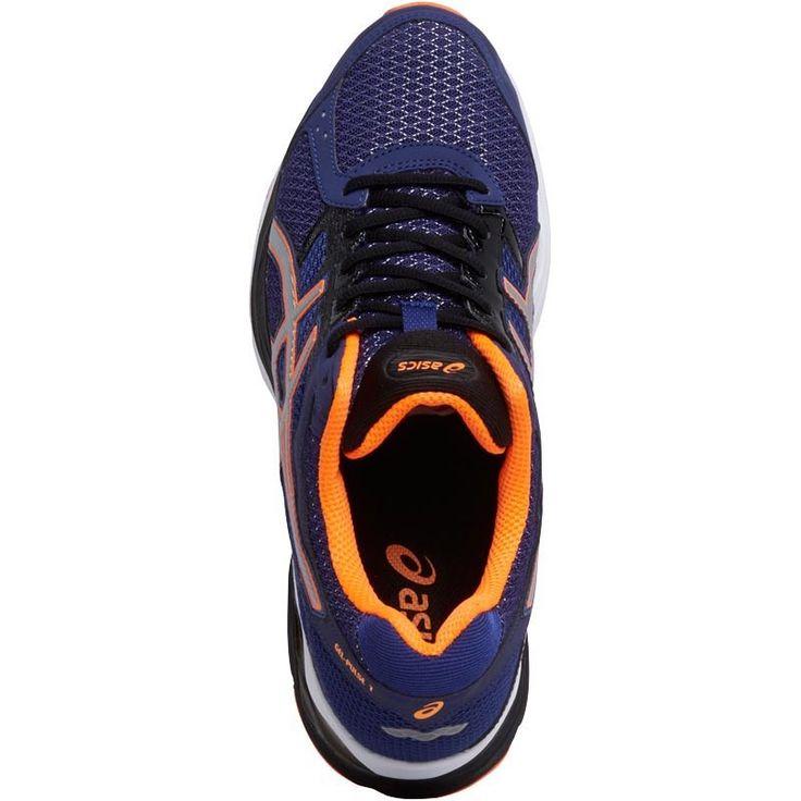 Asics Mens Gel Pulse 7 Neutral Running Shoes Deep Cobalt/Silver/Hot Orange