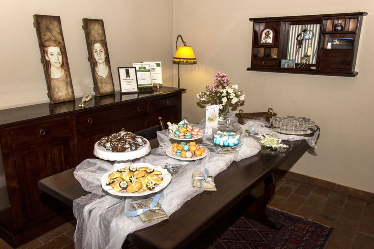 Christening reception - candy bar