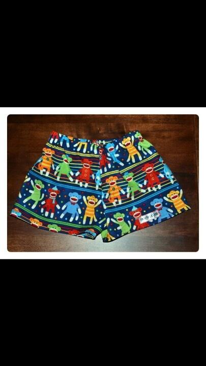 Monkey Shorts $20.00