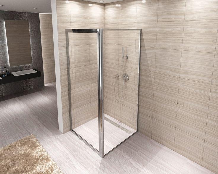 Ścianka Stała do drzwi prysznicowych 90x190 NEXT (5078471919) - Allegro.pl - Więcej niż aukcje.