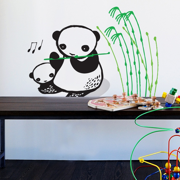 Wee Gallery Wall Graphics - Panda