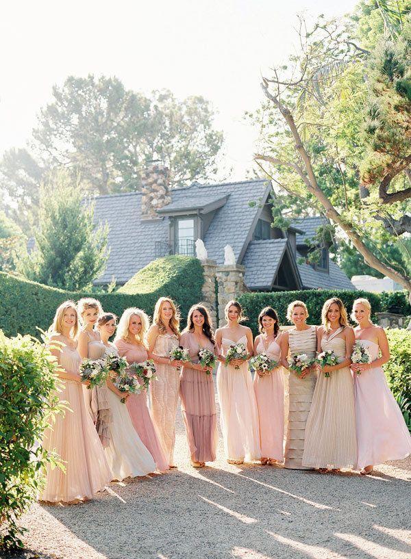 Mismatched Bridesmaids - Project Wedding Forums