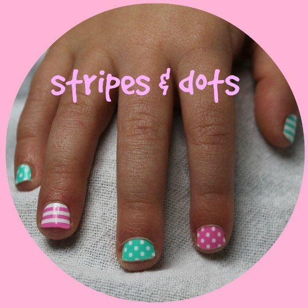 9 best kids children little girls nails nailwraps images on ...