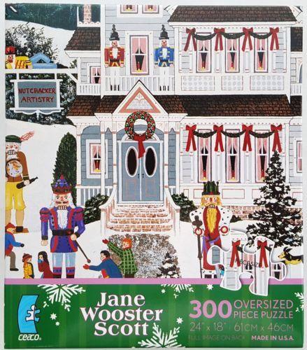 US $9.97  - CEACO-300pc-JANE-WOOSTER-SCOTT-NUTCRACKER-FANTASY-PUZZLE-Jig-Saw-USA-MADE