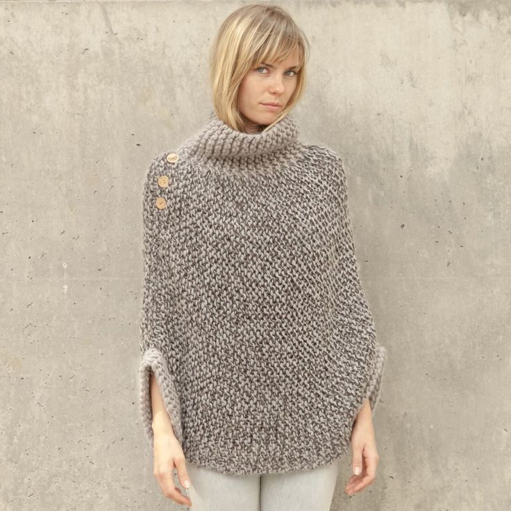 Free Knitting Patterns For Ponchos Or Shawls : 89 best Crochet Poncho & Shawls images on Pinterest ...