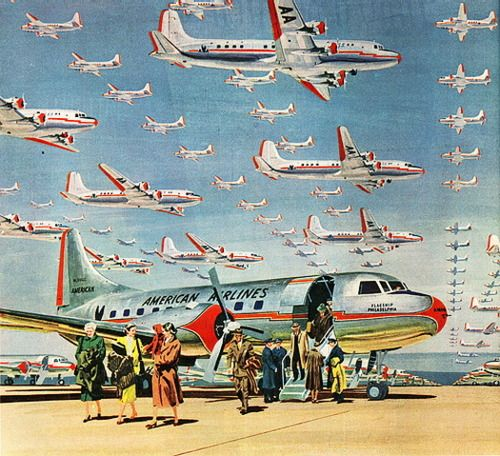 American Airlines, 1950