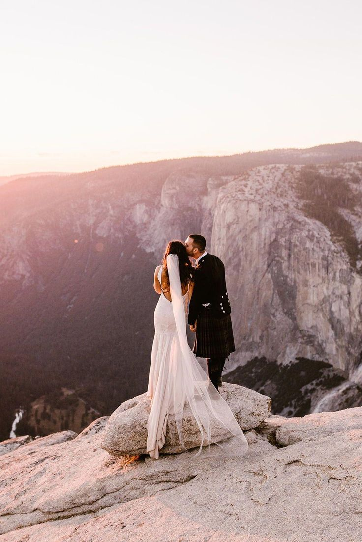 REAL WEDDING: AILSA + AUSTIN :: STUNNING YOSEMITE ELOPEMENT IN MODERN KATIE MAY …