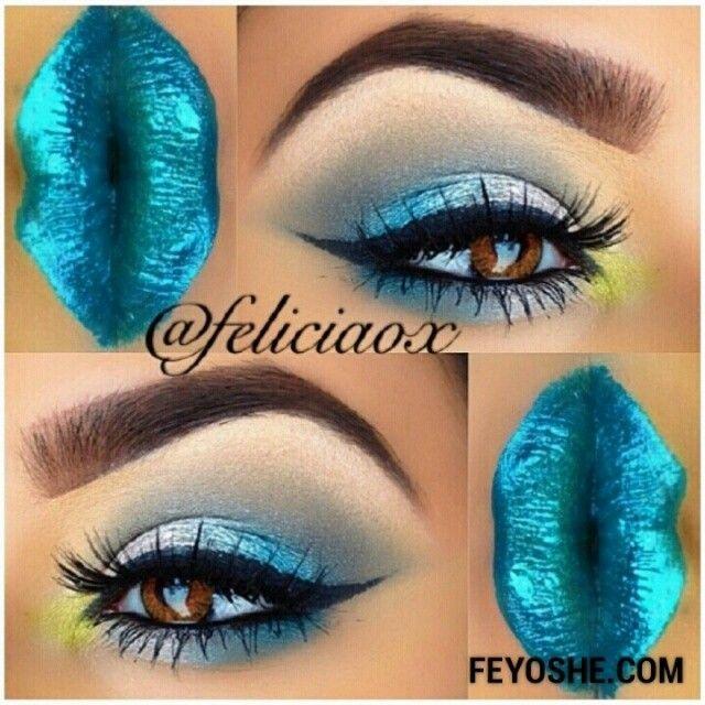 "#ShareIG     ""She's such a stunner!"" @feliciaox wearing #feyoshecosmetics ""Metallic Lip Gloss"""