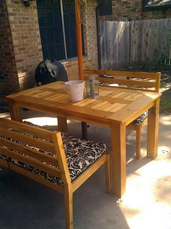 Outdoor Round Dining Table Plans WoodWorking Projects Plans