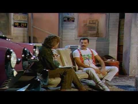 "▶ Freddie Mercury ""The Bigger The Better"" Interview 1985 - YouTube"