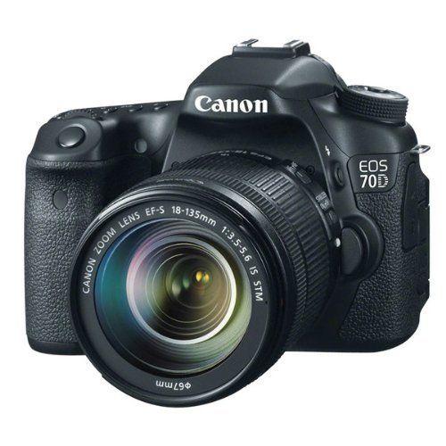 Canon 70D Appareil photo numérique Réflex 20,9 Mix Boîtier + Objectif 18-135mm STM Noir: Amazon.fr: Photo & Caméscopes