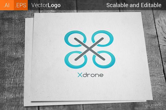 Drone Logo by Krukowski on Creative Market