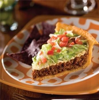Could absolutely demolish this Taco Pie.