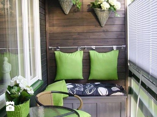 Jak zaaranżaować mały balkon w bloku? - Homebook.pl