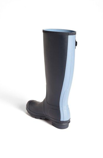 Hunter 'Original - Stripe' Waterproof Rain Boot (Women) | Nordstrom