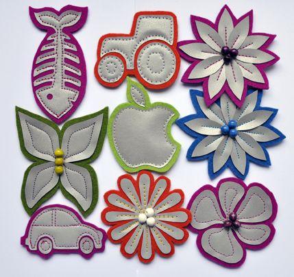 Huopaheijastin, 2-3 kpl | Tuulia design. Iloa & Ideaa askarteluun ja…