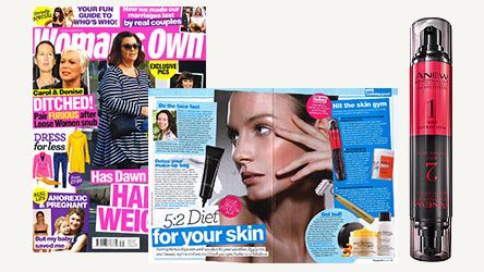 Woman's Own features Anew Infinite Effects