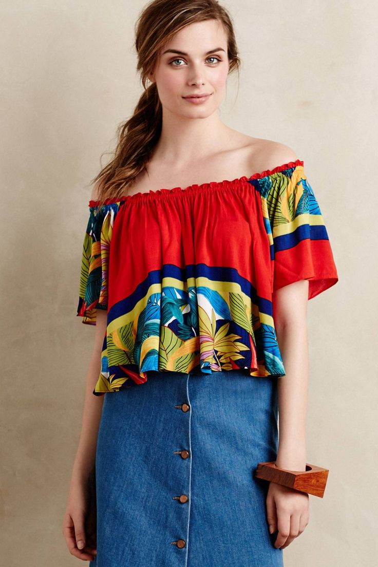 Moani Midi Top by Plenty by Tracy Reese #anthroregistry