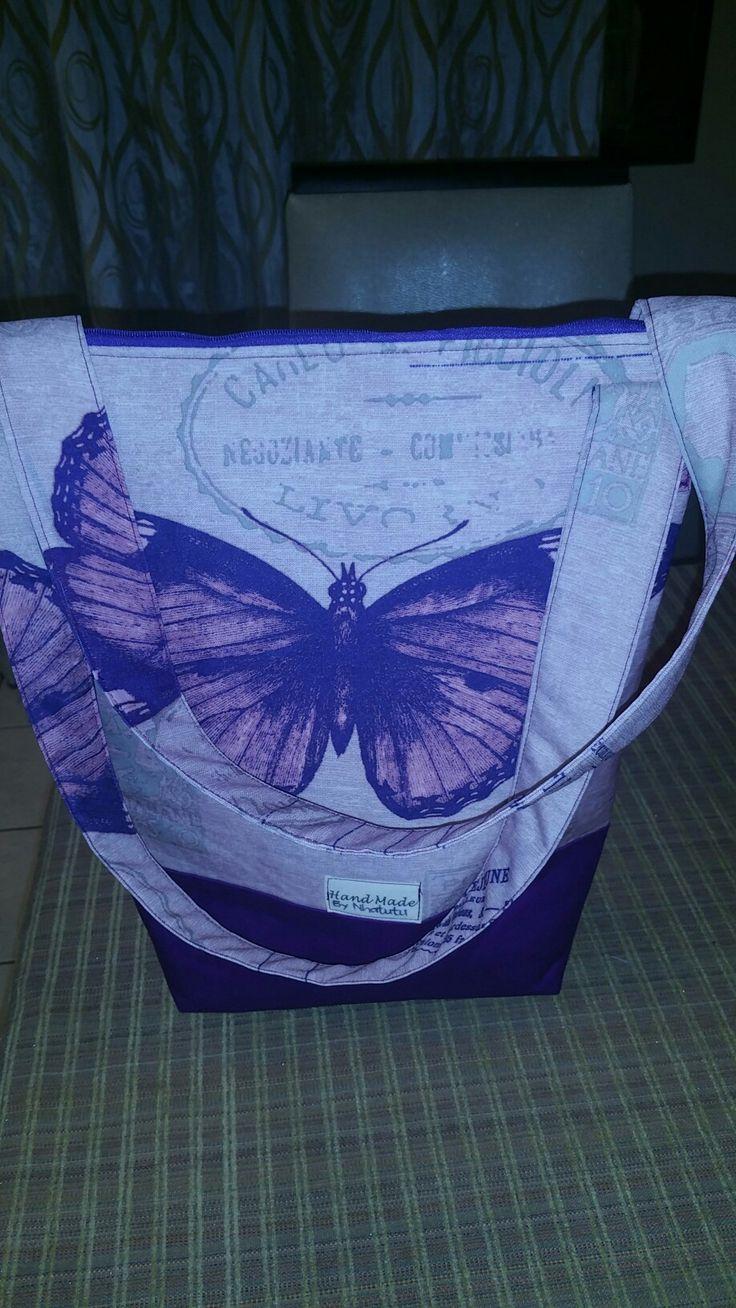Famous purple bag R200