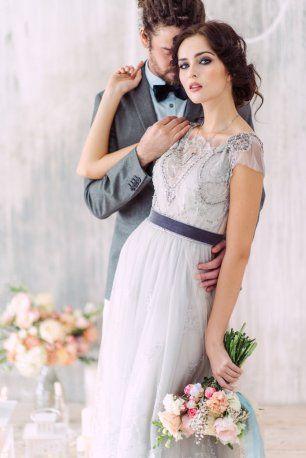 Свадебная фотосессия жениха и невесты