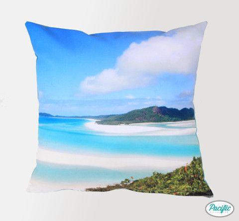 Airlie Beach cushion.