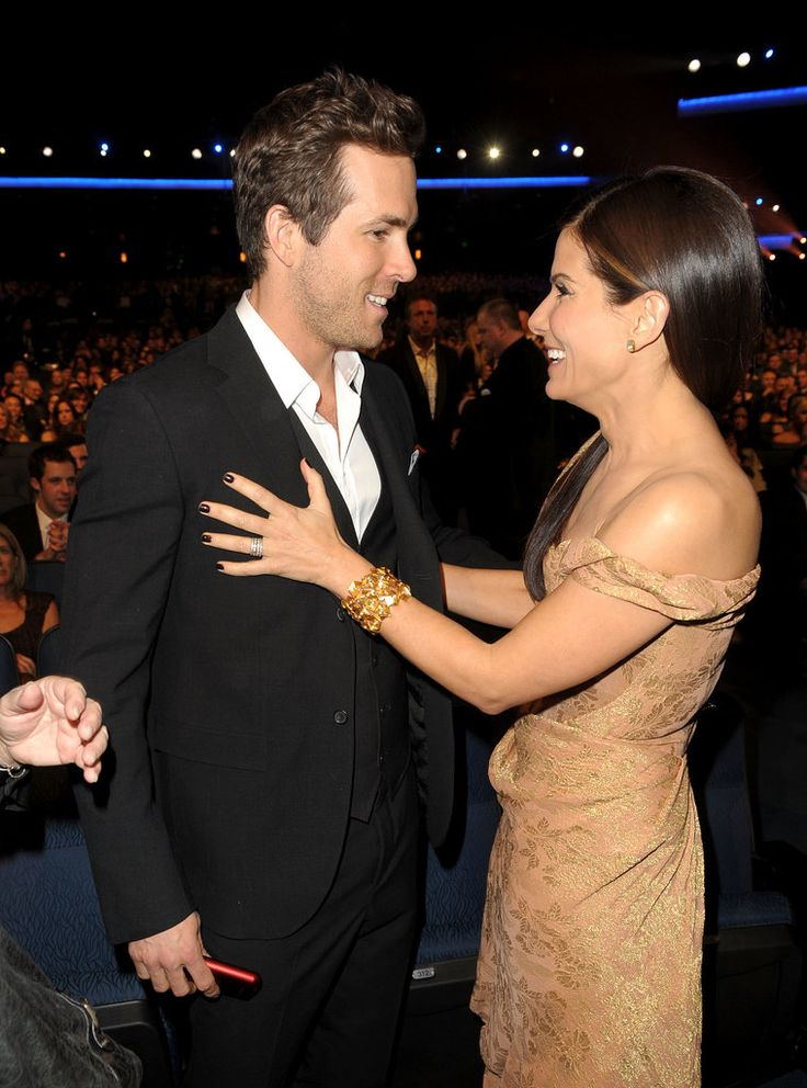 Sandra Bullock and Ryan Reynolds in 2010.