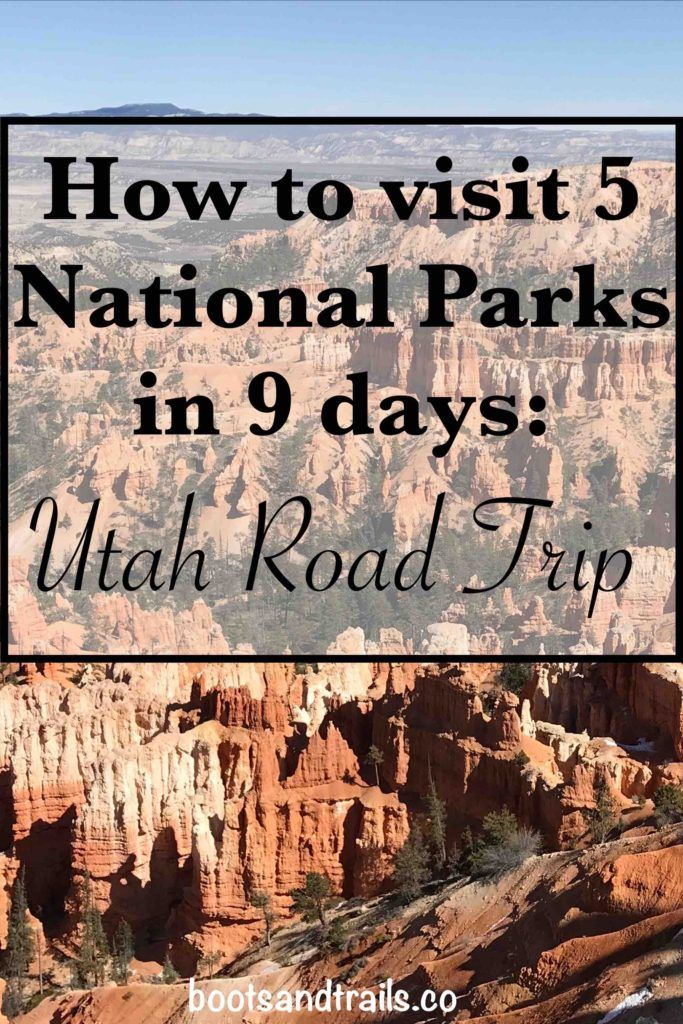 How to visit 5 National Parks in 9 days: Ultimate Utah Road Trip
