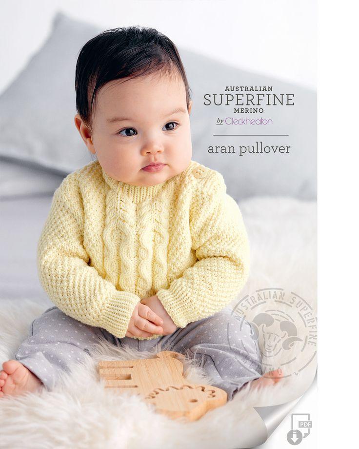 Cleckheaton Superfine - Aran Pullover, $7.00 (http://www.cleckheatonsuperfine.com.au/aran-pullover/)