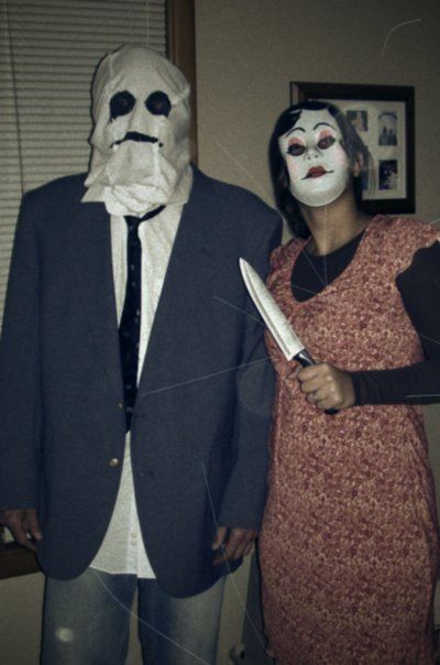 Halloween costumes inspired by the scary movie quot strangers quot we scared