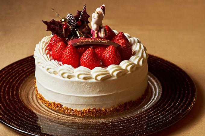 目黒雅叙園「メゾン・ジェ・トウキョウ」クリスマスケーキ チョコでできた玉手箱の中にスイーツがぎっしり 写真5
