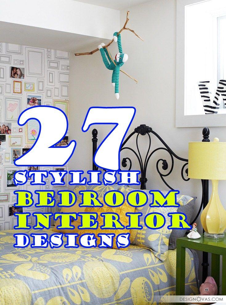 27 Stylish Bedroom Interior Designs