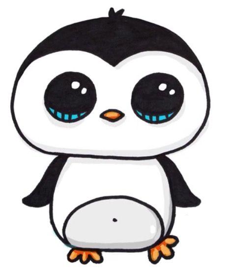 Pingüino kawaii