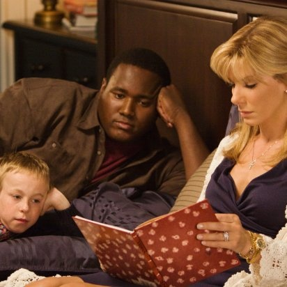 The Blind Side - I loved this scene (especially the sister listening in the hall).