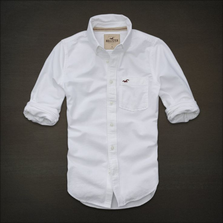 Hollister Long Sleeve Shirts | NWT HOLLISTER Abercrombie Mens Long Sleeve Button Shirt Striped S, M