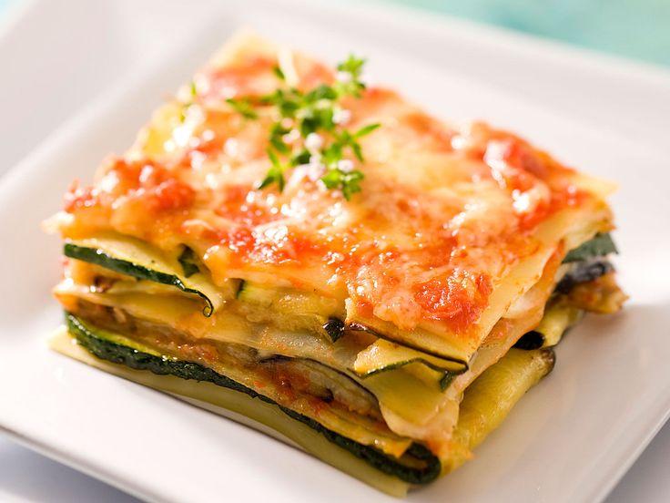 Découvrez la recette Lasagnes végétariennes sur cuisineactuelle.fr.                                                                                                                                                                                 Plus