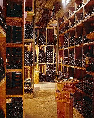 La plus célèbre cave de Paris: celle du Georges V...