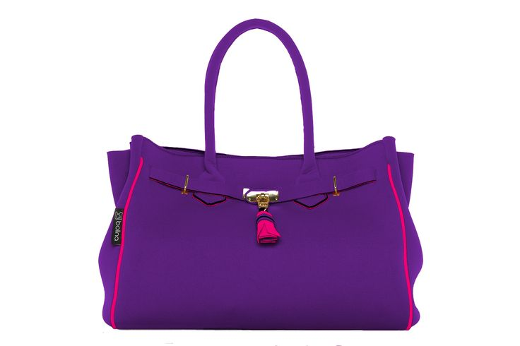 Batija Bag - Amethyst and Fisher pink