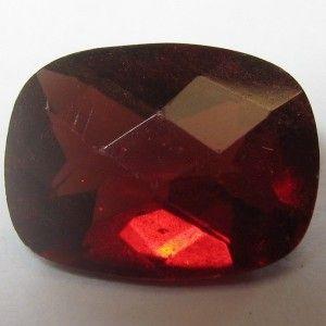 Red Pyrope Garnet Cushion Cut 1.40 carat
