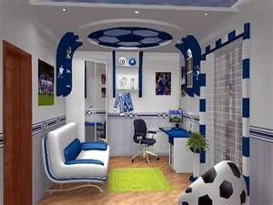 Football Themed Bedroom Mesmerizing 46 Best Kid's Soccer Room Images On Pinterest  Bedroom Ideas Review