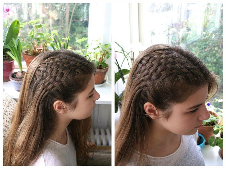 Side basket weave tutorial - HairAndNailsInspiration  Follow or Friend me I'm always posting awesome stuff: http://www.facebook.com/tennie.keirn