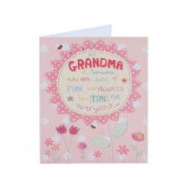Sunflower For Your Grandma Who Means SO Much - Birthday Card