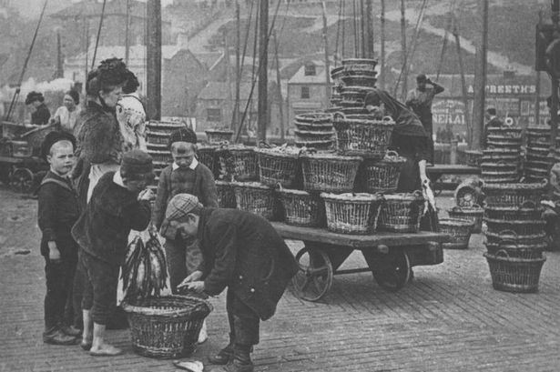 North Shields Fish Quay, 1890, by Edgar Lee