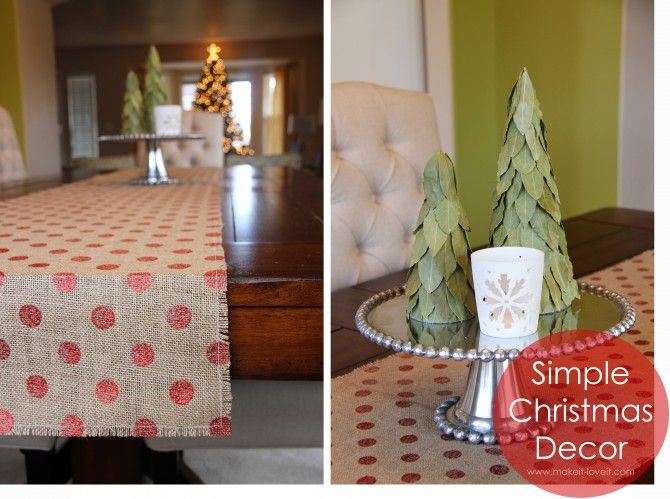Burlap Christmas Ideas | Christmas table ideas 7155×5334 simple christmas decor burlap