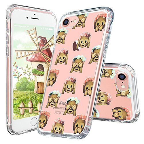 Mosnovo Cute Monkey iPhone 7 Case Collection ☞ http://amzn.to/2gAnGvm  #Mosnovo